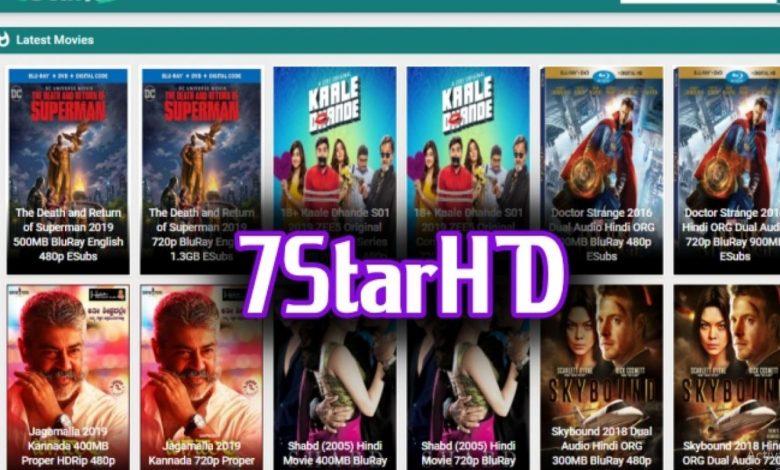 7Starhd 2021 - HD Latest Movies Download Website 300Mb